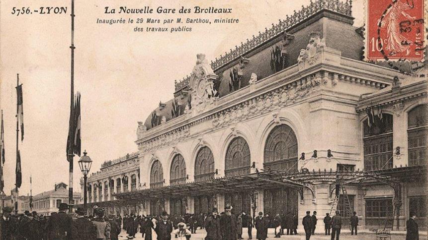 Ancienne gare des Brotteaux à Lyon